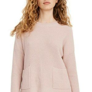 NWT Madewell Patch Pocket Pullover Knit Sweater 3X